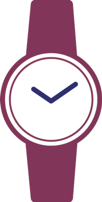 Armbanduhren für Damen